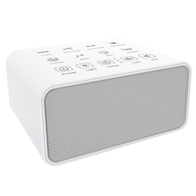 8 Sound White Noise Machine,Sleep Sound Machine For Sleeping,8 Soothing Sounds,White Noise Machine For Office Privacy,Plug In Or