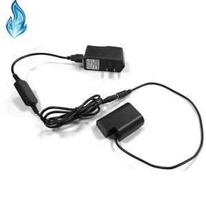 Image 1 - DMW BLF19 dummy סוללה DMW DCC12 DC מצמד + USB כבל מתאם + 5V3A כוח עבור Panasonic Lumix DMC GH3 GH4 GH5 מצלמות