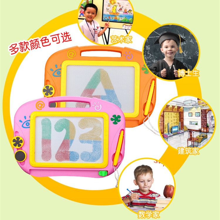 153C Yue Wei CHILDREN'S Drawing Board Color Magnetic Drawing Board Baby Drawing Board Learning Toy