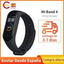 Xiaomi – bracelet connecté sportif Mi Band 4, avec moniteur de fréquence cardiaque, écran coloré, étanche, Original, mise à jour