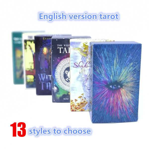 Magical Tarot English Edition Mysterious Tarot Board Game Family Party Cards Game (6 Styles To Choose)