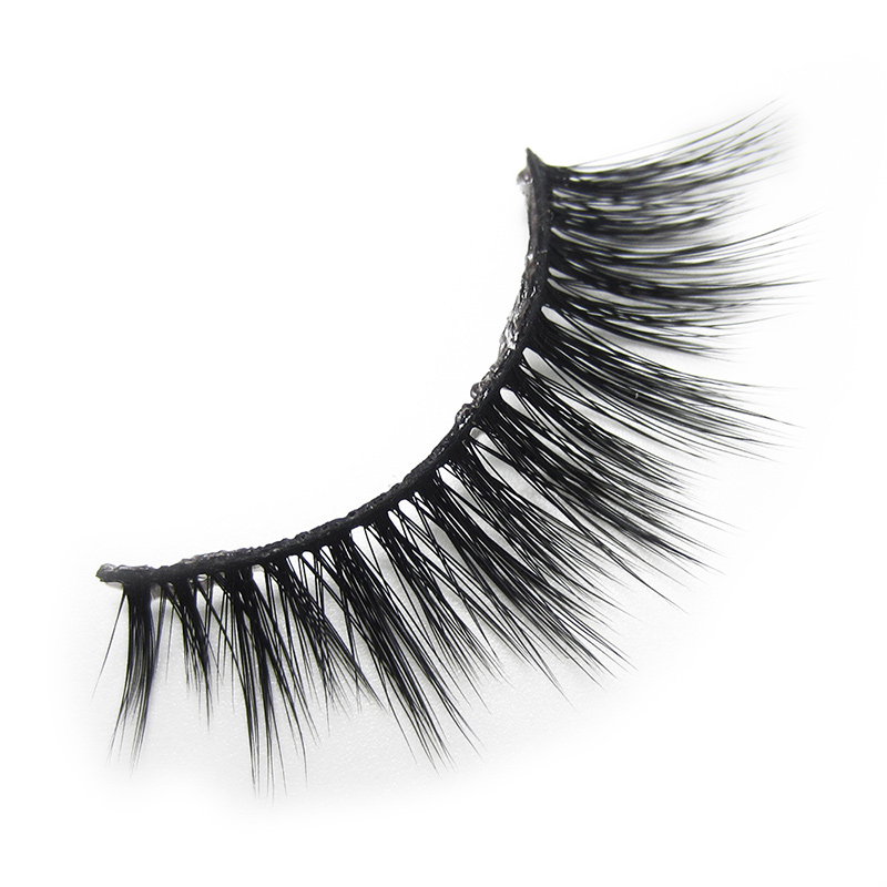 A02 GLAMAR 3D mink lashes super high quality soft thick long false eyelashes full strip hand made  fake eye lash
