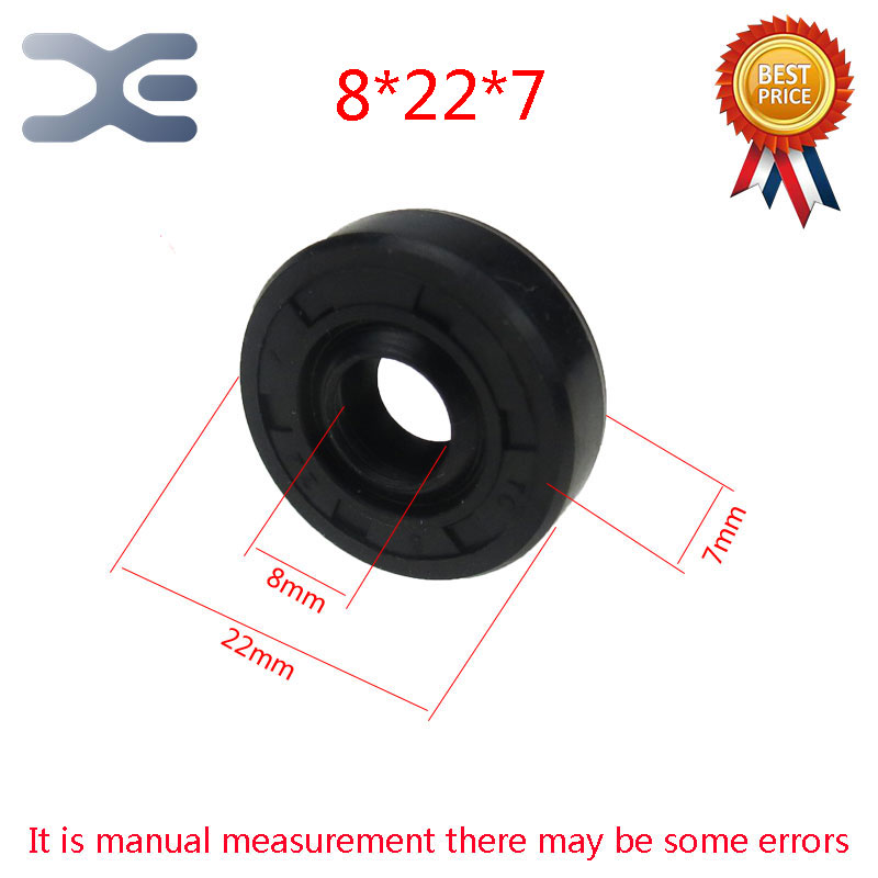 1Pcs Breadmaker Sorbet Machine Repair Parts  For LG Oil Seal Ring TC Inner Diameter 8 Outer Diameter 22 Thickness 7 Wearable