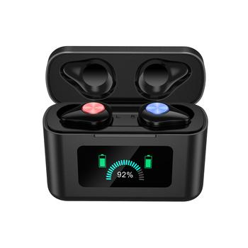 Inteligentne sterowanie dotykowe bezprzewodowy TWS słuchawki douszne APTX czujnik podczerwieni bezprzewodowe słuchawki Bluetooth akcesoria do telefonów komórkowych tanie i dobre opinie FUYUN Ucho Dynamiczny CN (pochodzenie) wireless 32dB Wspólna Słuchawkowe Dla Telefonu komórkowego Sport NONE Do 32 Ω