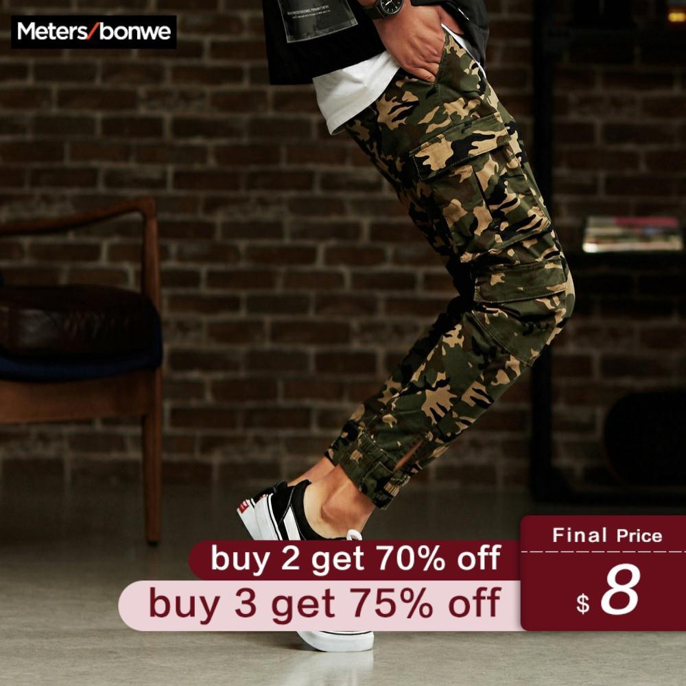 Metersbonwe Men Casual Pants Trend Street Overalls Sports Pants Camouflage Feet Jogging Pants