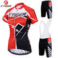 X-tiger été femmes cyclisme maillots ensemble course vélo vêtements Ropa Ciclismo filles cyclisme ensemble montagne vélo vêtements