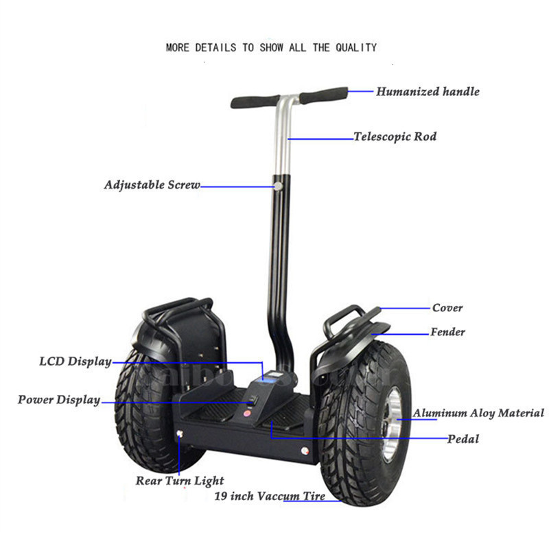 19 inch hoverboard Smart 2 wheels off-road scooter High Power lasting power self balancing scooter adjustable hover board (23)