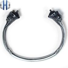 Original Design Handmade Silver Zombie Bracelet Personality 925 Enamel Open