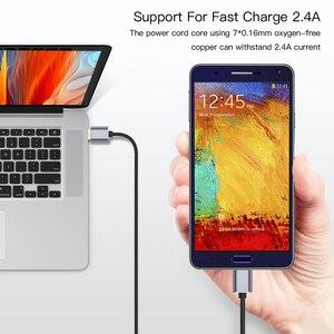 Image 3 - 3.0 USB סוג למייקרו B נתונים סנכרון כבל מהיר מהירות USB3.0 כבל עבור כונן קשיח חיצוני דיסק HDD סמסונג S5 הערה 3 מחבר