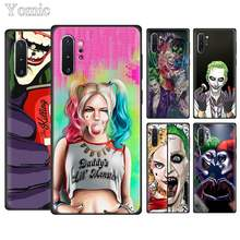 Harley Quinn Coringa do Esquadrão Suicida Phone Cases para Samsung Galaxy Note 10 10 Plus (5G) nota 8 9 S10e S8 S9 S10 Plus S7 Macio TPU Co(China)