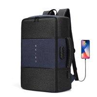 Laptop Rucksack Männer Anti-diebstahl Multifunktionale Wasserdichte USB Rucksack Reisetasche in Männlichen Gepäck Rucksack Business KEINE Schlüssel