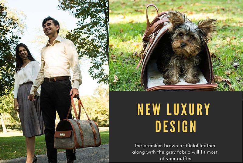 airline dog carrier, dog bag