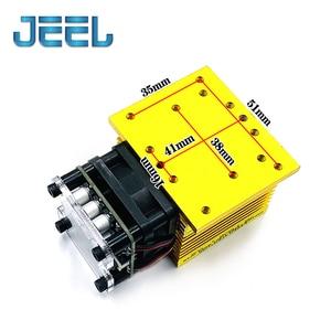 Image 3 - Module Laser à mise au point fixe, 15000mW 12V, Diode TTL /PWM, marquage acier inoxydable, découpeuse pour graveur Laser, bricolage soi même, 15W