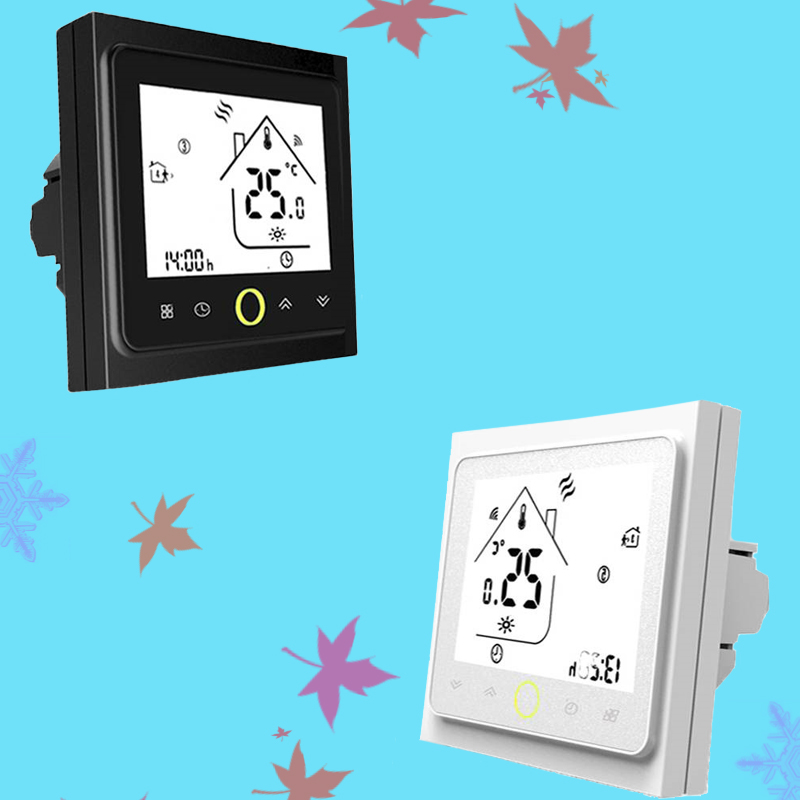 Thermostat Water/Electric Heating /Gas Boiler Programmable Thermostat Touch Screen  Wifi /No/Modbus Room Temperature Controller