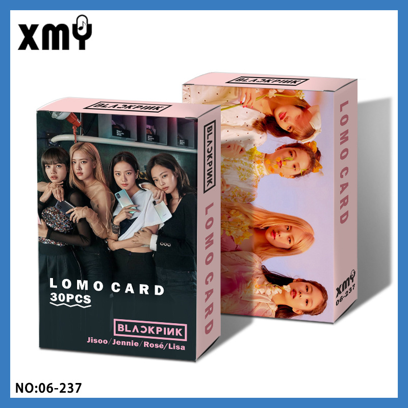30pcs/set Kpop Blackpink Lomo Card HD High Quality Photo Album Blessing Greeting Card Message Postcard Kpop BLACKPINK Photocard