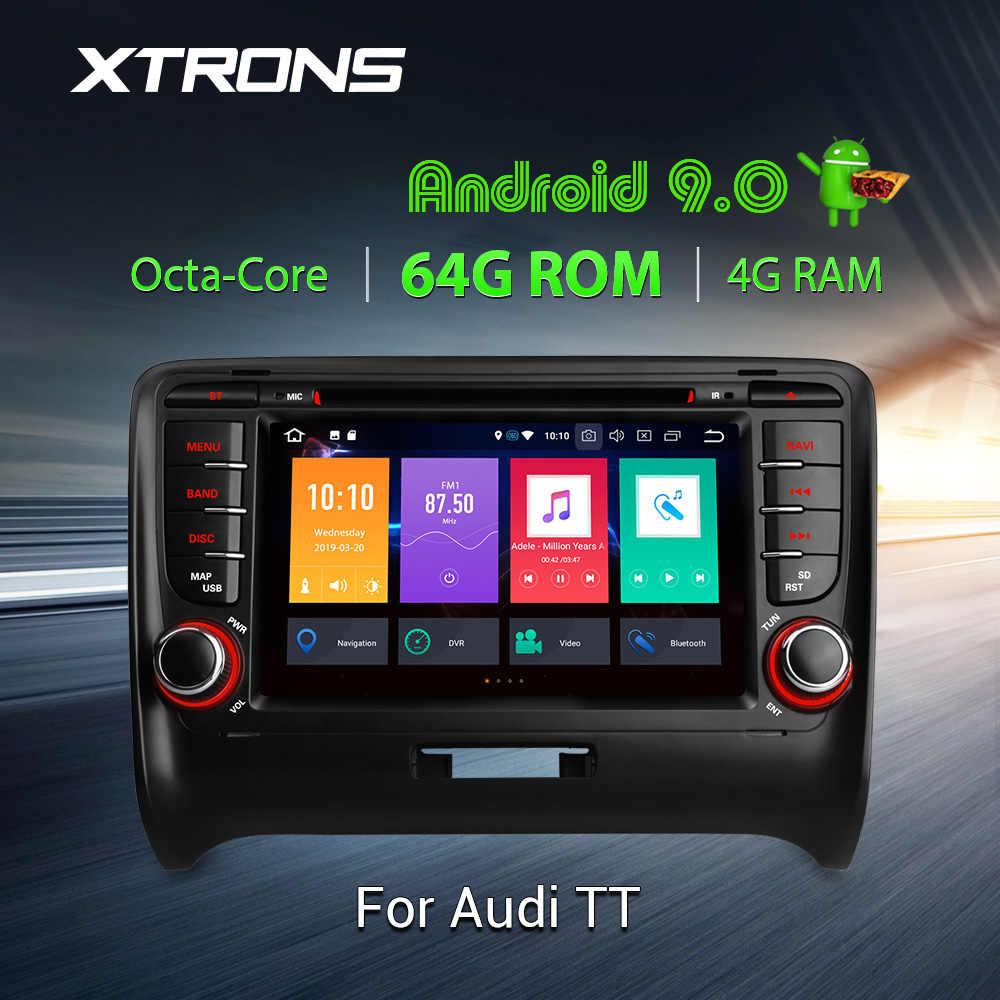 XTRONS アンドロイド 9.0 PX5 オクタコア GPS ナビゲーション Dvd プレーヤー OBD アウディ TT MK2 8J 2006 2007 2008 2009 2010 2011 2012