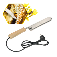 110V 220V Electric Scraping Bee Honey Extractor Stainless Steel EU Plug Uncapping Hot Knife Beekeepers Tool for Beekeeping