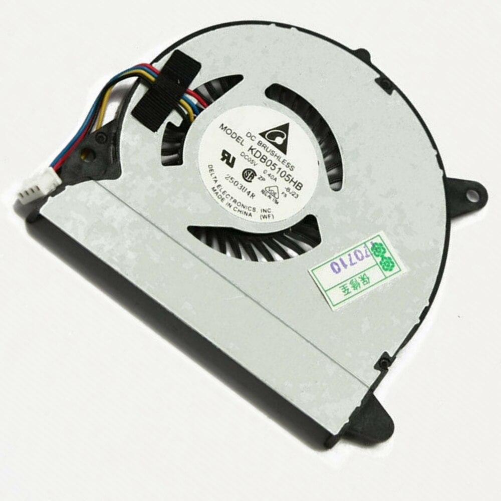 Laptop CPU Cooler Fan For ASUS X32 U32J U32JC U32U U32V U32VJ U82U X32U KDB05105HB -BJ23 DC5V 0.4A 4PIN Cooling