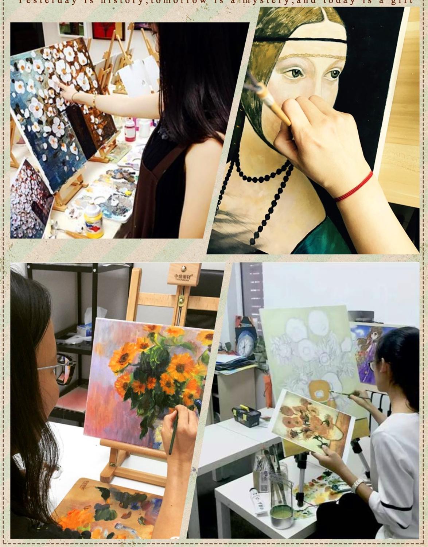 Hand Bemalt Ölgemälde 5 Stück Rot Schwarz und Weiß Abstrakte Kunst Moderne Wohnkultur Wand Kunst Gruppe Malerei hause Dekorative Pa - 5