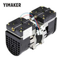 YIMAKER 110V /220V Micro Vacuum Pump Double Head Oilless Diaphragm Vacuum Pumping 100W 60HZ 24L/MIN 30L/MIN For Medical Special