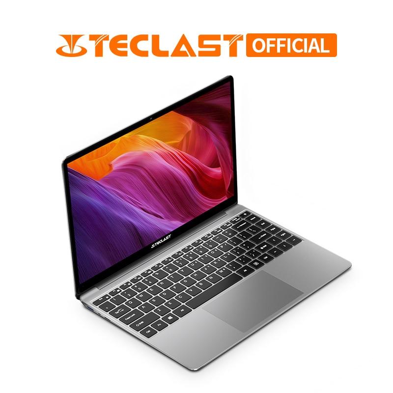 Ultra Thin 14 Inch Teclast F7 Plus Laptop 1920 X 1080 Windows 10 OS Intel Gemini Lake N4100 Quad Core 8GB RAM 256GB SSD Notebook