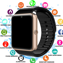 GT08 Smart Watch with Camera SIM TF Card  for Apple Watch Men Women Android Wristwatch Smart Electronics Smartwatch PK Y1