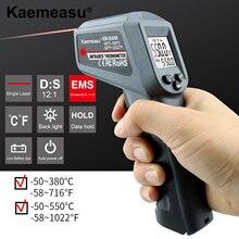 Kaemeasu Handheld Digital Infrared Thermometer Non-Contact Electronic Kitchen Baking Industry Temperature Measuring Gun