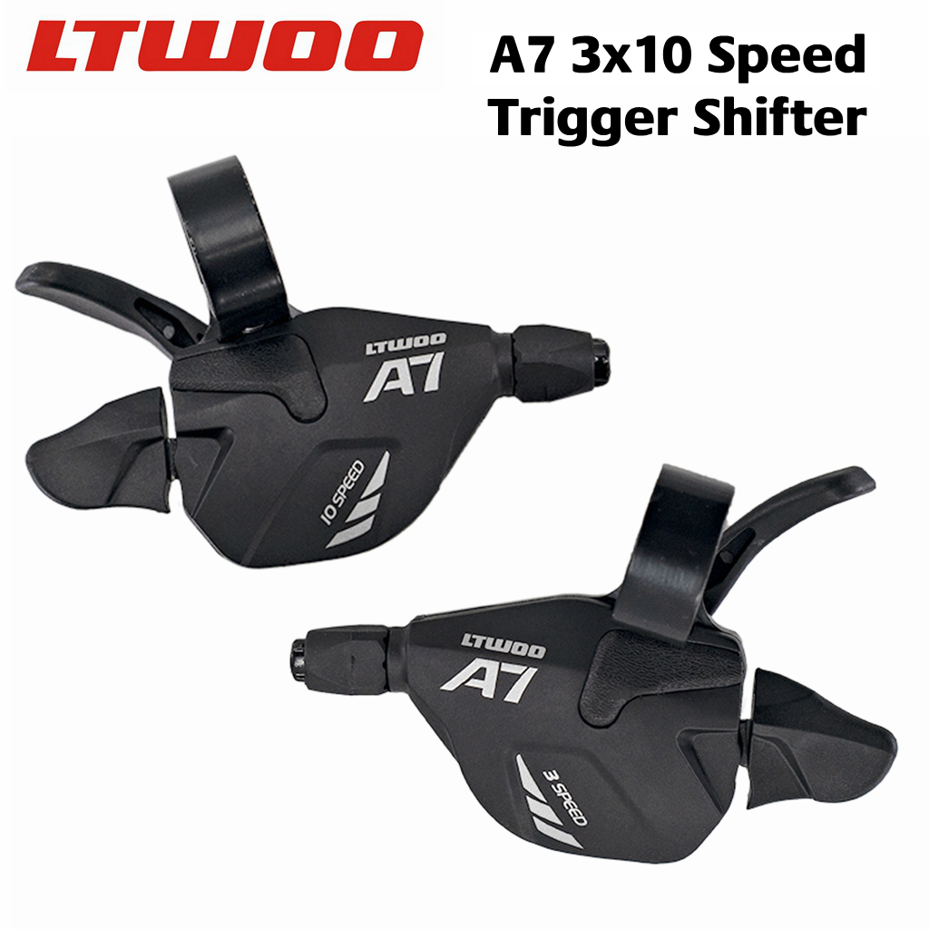 LTWOO A7 3x10 s/<font><b>2x10</b></font> s with release speed, gear change lever, gear change lever, DEORE X9 compatible image