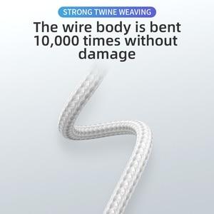 18W кабель для быстродействующего зарядного устройства из алюминиевого сплава Тип C микро нейлоновый USB Дата кабель для зарядки для Iphone, Samsung, Xiaomi, Huawei, Android мобильный телефон|Кабели для мобильных телефонов|   | АлиЭкспресс