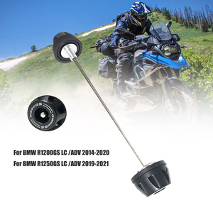 Image 1 - For BMW R1200GS LC Adventure R1250GS ADV GSA R1250RT R1200RT 2013 2021 Motorcycle Front Axle Fork Wheel Protector Crash Slider
