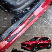 Автомобильные аксессуары, Стайлинг, протектор, накладка на руку для Cx5 2020, наклейка на дверь автомобиля, из нержавеющей стали 2017 2021