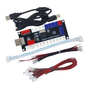 SJ @ JX gra arkade USB kodu enkodera pokładzie Zero opóźnienia kontroler do gier kontroler DIY przycisk joysticka dla PC MAME Raspberry Pi