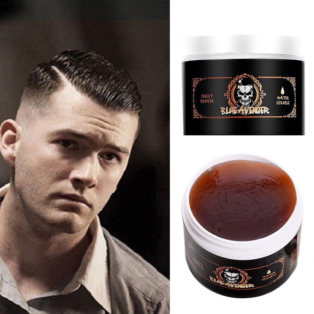 Skeleton Cream Pomade Hair Wax Hairstyles Clay Mud Strong Style Keep Hair Restoring Oil Finished Molding Cream Stereotype TSLM1
