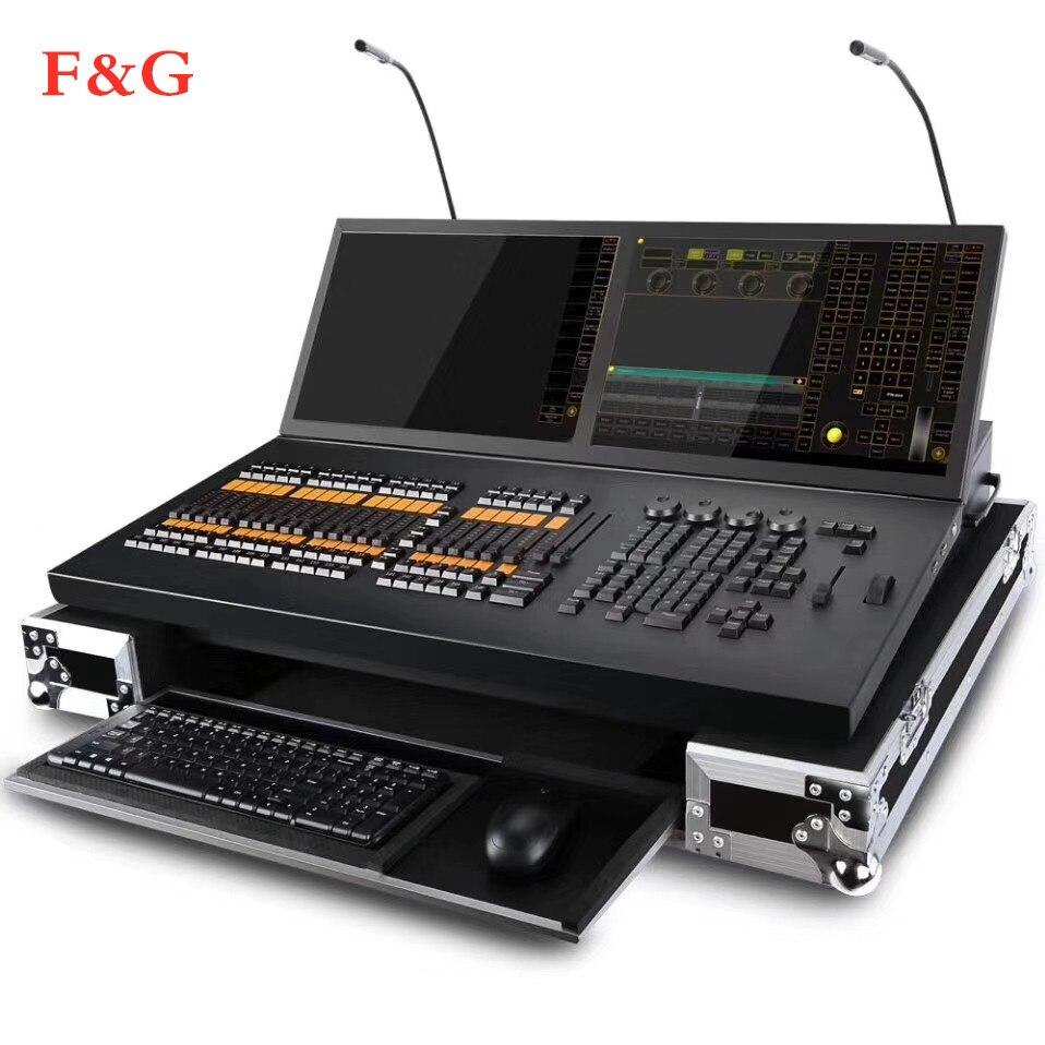 Grand Ma Licht Console MA2 Pro Versie Zwart Paard DMX512 Podium Lighing Controller Onpc Software Voor Moving Head Licht Armatuur