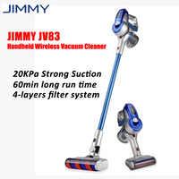 Original JIMMY JV83 2-en-1 multifunción manual ligero aspirador inalámbrico 20KPa potente colector de polvo para el hogar del coche