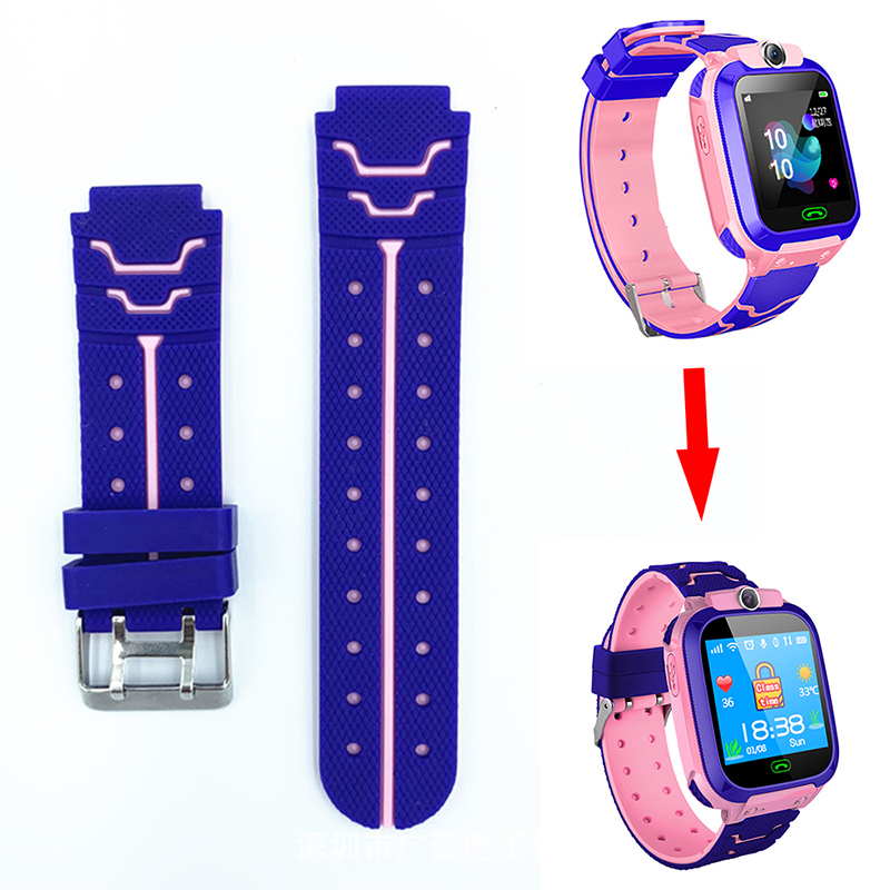 Multicolor Children's Kids Smart Watchs Accessories Bracelet Strap Replacement Silicone Wriststrap For Z5 S16 S15 Q12 Q12B Watch