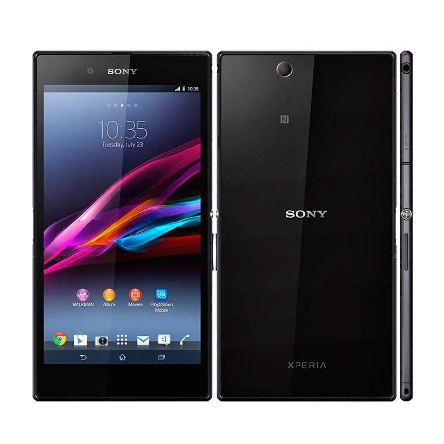 New Original  Sony Xperia Z Ultra C6802 3G Mobile Phone Snapdragon Quad Core 2GB 16GB 6.4