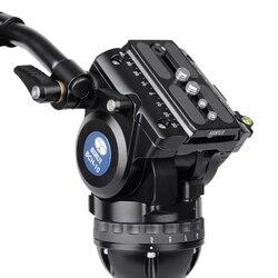 BCH-10 SIRUI Broadcast Video hydraulic multi-head position adjustment dual-level professional models