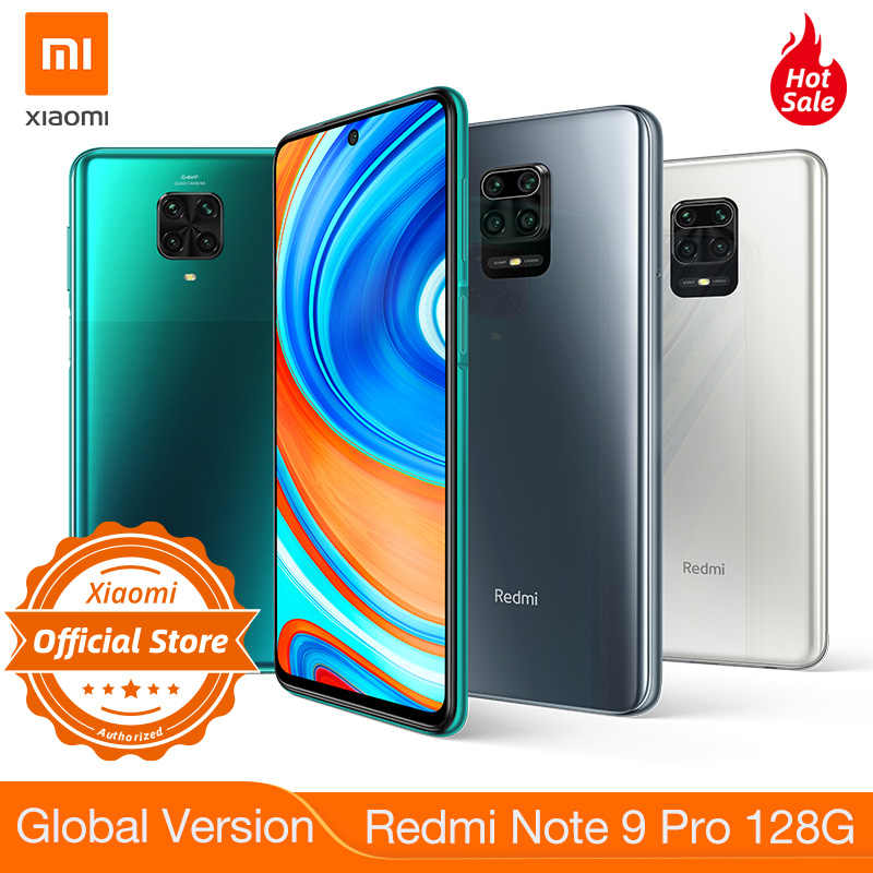 Neue Globale Version Xiaomi Redmi Hinweis 9 Pro 128GB NFC Smartphone 6GB 64MP Quad Kamera Snapdragon 720G Google zahlen 2400x1080 Display