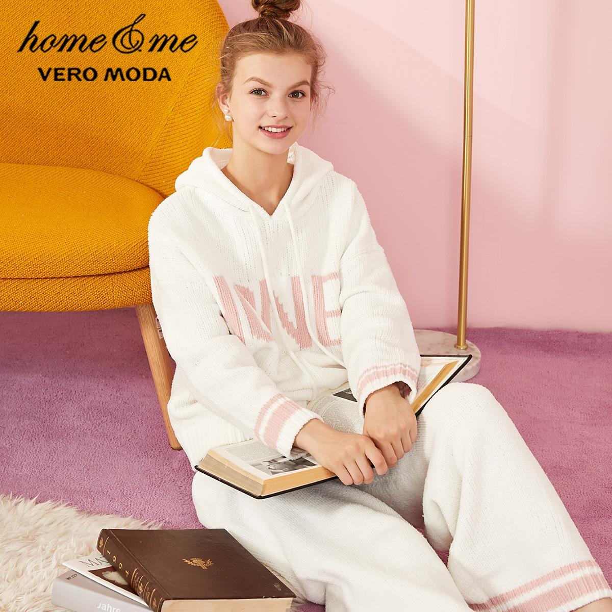 Vero Moda Women's Two-piece Long-sleeved Knitted Sleepwear Pajamas Sets | 3194K6506