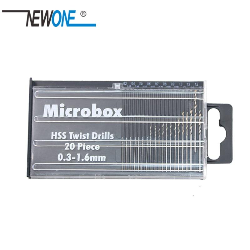 20 Peace HSS Micro Drill Bit Set