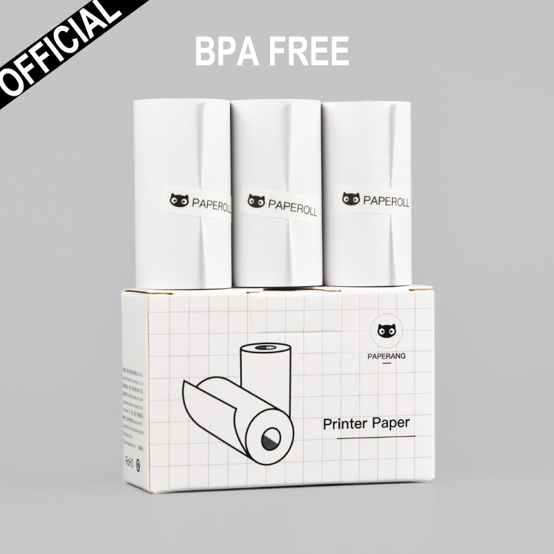 58mm Thermal Photo Paper Without BISPHENOL A White Color For Paperang Pictures Printer Keep 10 Years