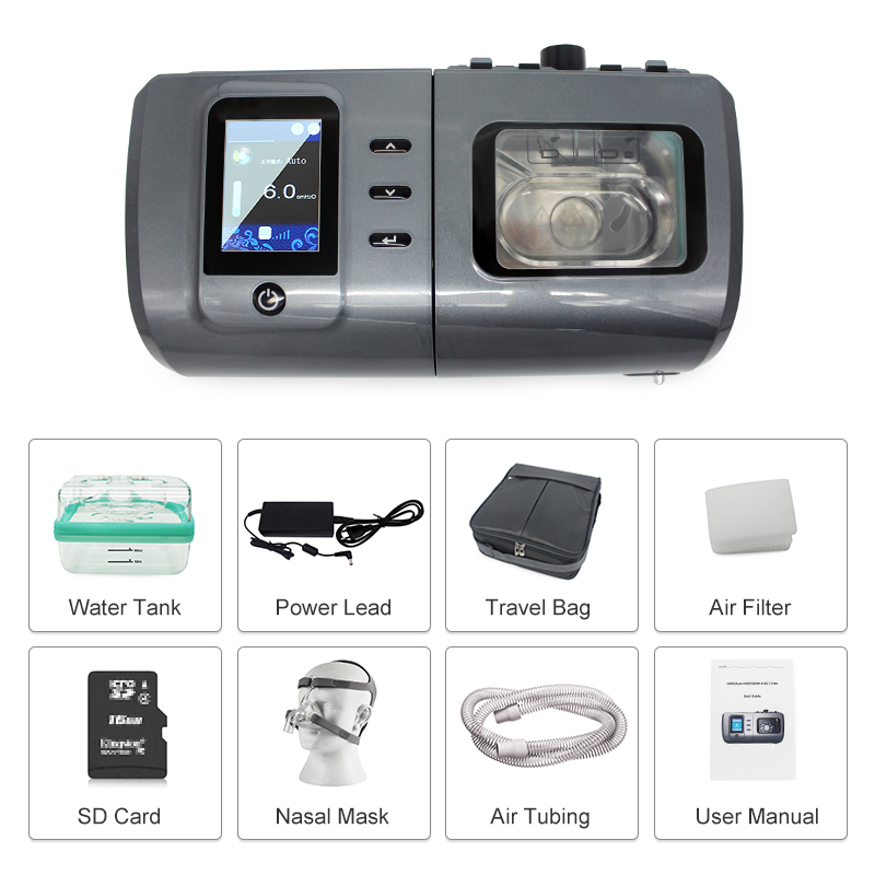 Ce Certified Medical Ventilator High Quality Portable Intelligent Bipap Ventilator Machine For Treat Lung Infection