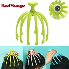 1Pcs Head Massager Neck Massage Octopus Scalp Stress Relax Spa Healing Health Care Tool Body Head Massage Beauty Tool 2019 TSLM1