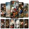 Case For Samsung Galaxy A50 A70 A10 A30 A20e A20s A10s A40 A90 A10e A80 A60 A70s A50s A30s A20 Capa Classic flower aesthetic