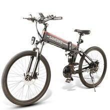 Samebike lo26 48v 500w Электрический горный велосипед складной
