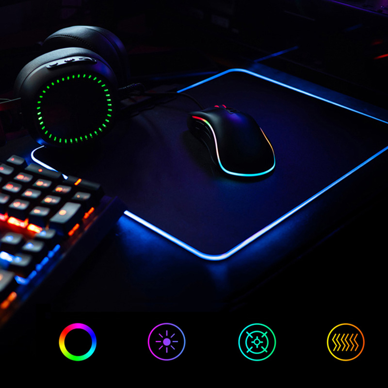 Redragon P011 Orion RGB Mousepad Waterproof LED Lighting Gaming Mouse Pad