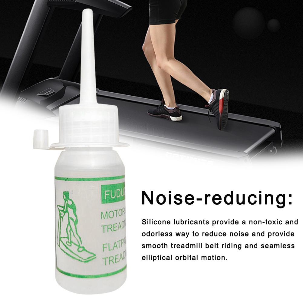 Treadmill Special Lubricant Treadmill Maintenance Silicone Oil Running Machine Lubricant Treadmill Accessories 30ML