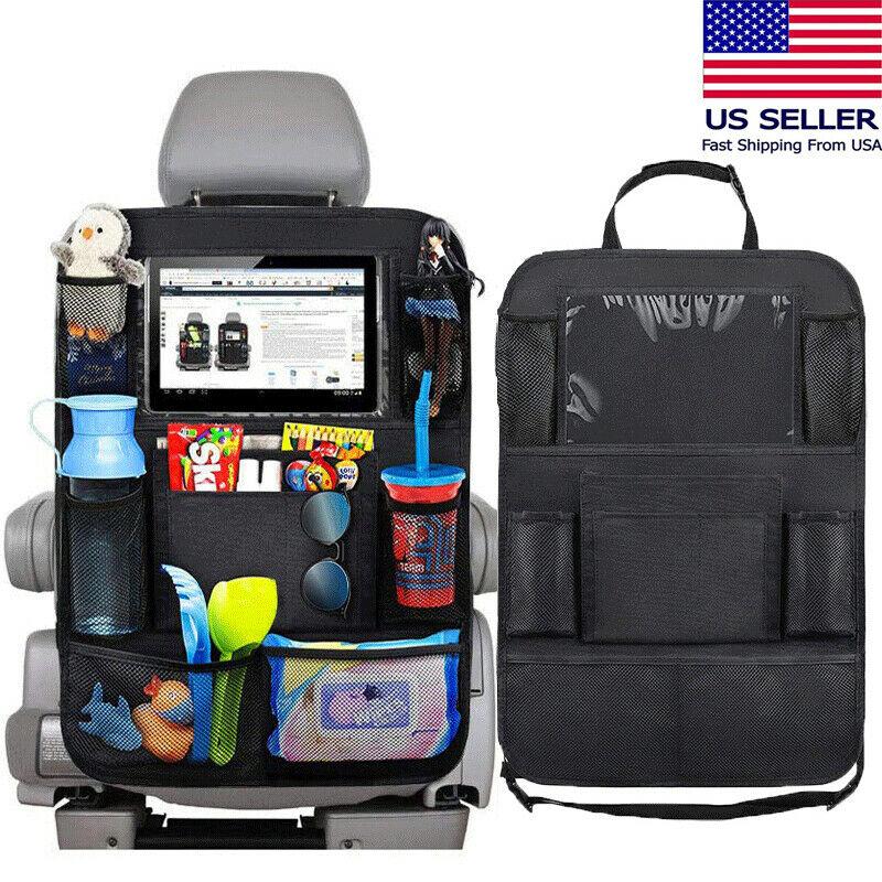 New Fashion Black Auto Car Seat Back Multi-Pocket Storage Bag Organizer Holder Accessory