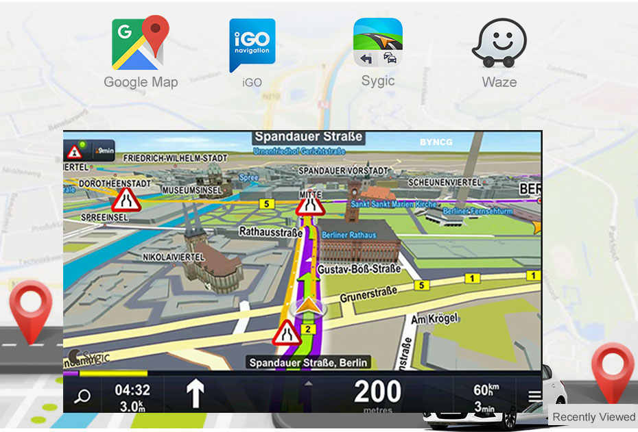 Reproductor de DVD para coche Android 8,1 2.5D GPS navegación Multimedia para peugeot 307 307CC 307SW Radio 2002-2013 estéreo para coche